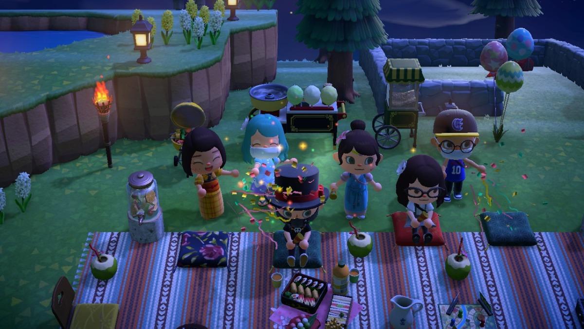 """Holt die Partykracher raus"""" Wie Animal Crossing durch die Corona ..."""